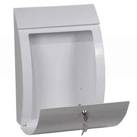 Curvo Top Loading Mail Box Mb0112kw Phoenix Safe Company
