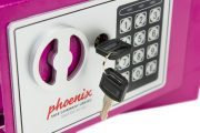 Phoenix Compact Home Office SS0721EPD Pink Security Safe with Electronic Lock & Deposit Slot 4