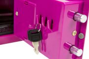 Phoenix Compact Home Office SS0721EPD Pink Security Safe with Electronic Lock & Deposit Slot 5