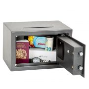 Phoenix Vela Deposit Home & Office SS0801ED Size 1 Security Safe with Electronic Lock 3