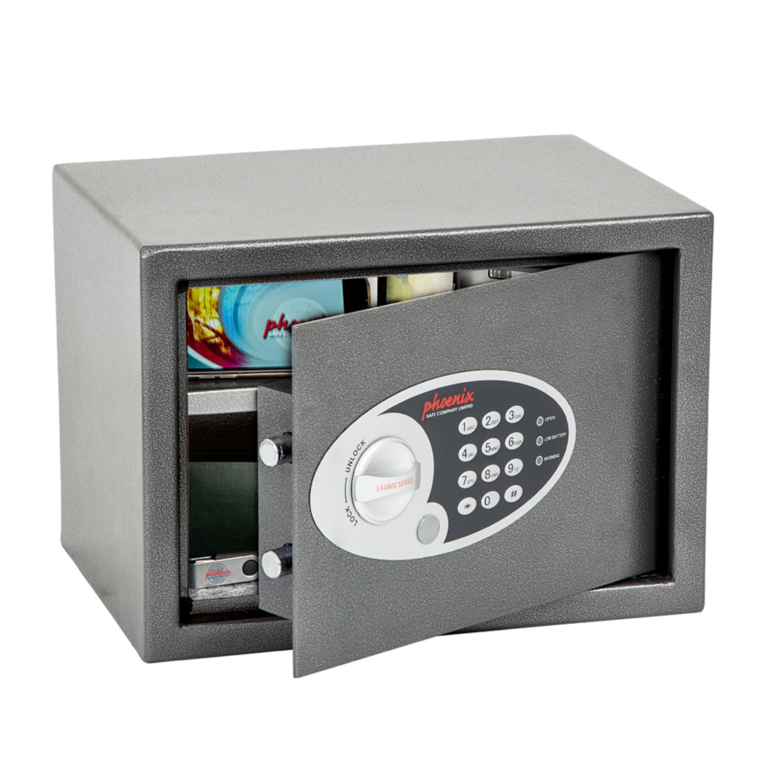 Phoenix Vela Home Office Ss0802e Size 2 Security Safe With Electronic Lock Phoenix Safe