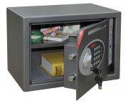 Phoenix Vela Deposit Home & Office SS0802ED Size 2 Security Safe with Electronic Lock 1