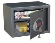 Phoenix Vela Deposit Home & Office SS0802KD Size 2 Security Safe with Key Lock 1