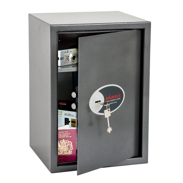 Phoenix Vela Home & Office SS0804K Size 4 Security Safe with Key Lock