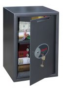 Phoenix Vela Deposit Home & Office SS0804KD Size 4 Security Safe with Key Lock 0