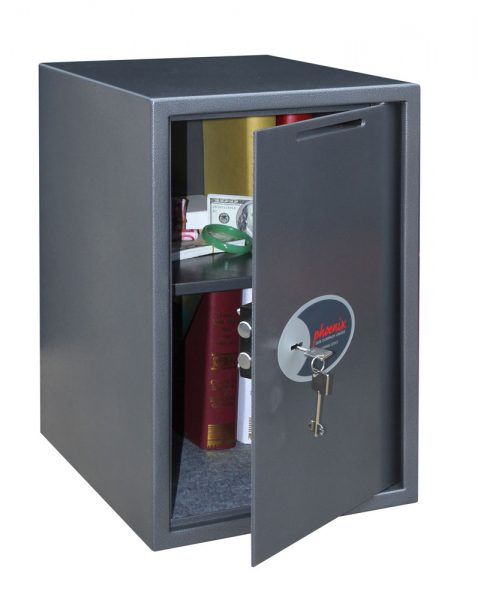 Phoenix Vela Deposit Home & Office SS0805KD Size 5 Security Safe with Key Lock