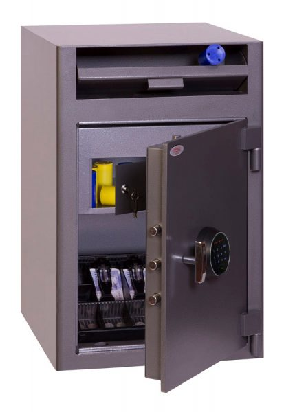 Phoenix Cash Deposit SS0998FD Size 3 Security Safe with Fingerprint Lock
