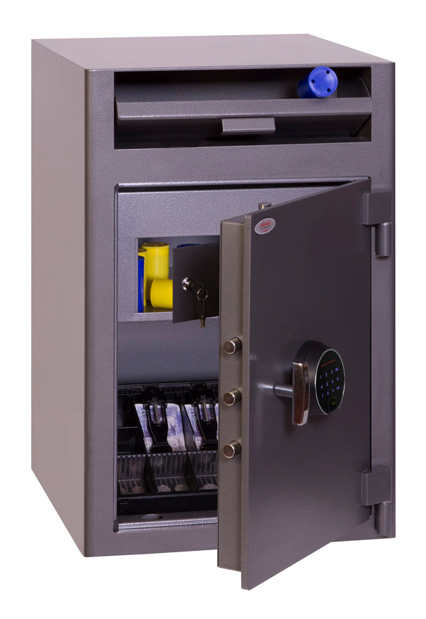 Phoenix Cash Deposit SS0998FD Size 3 Security Safe with Fingerprint Lock