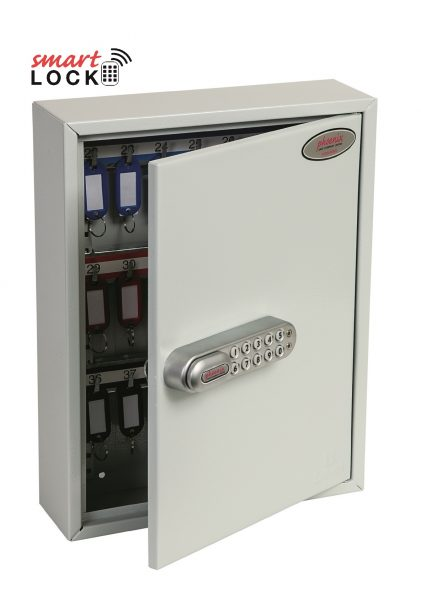 Phoenix Commercial Key Cabinet KC0601N 42 Hook with Net Code Electronic Lock.