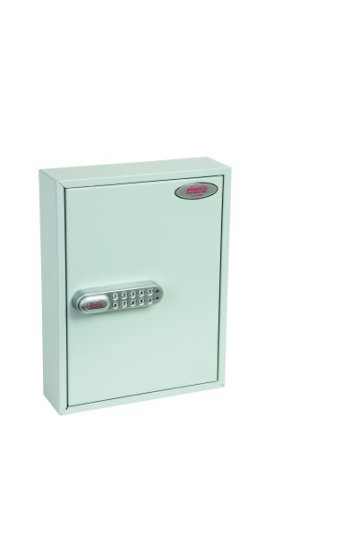Phoenix Commercial Key Cabinet KC0601S 42 Hook with Electronic Lock & Push Shut Latch.