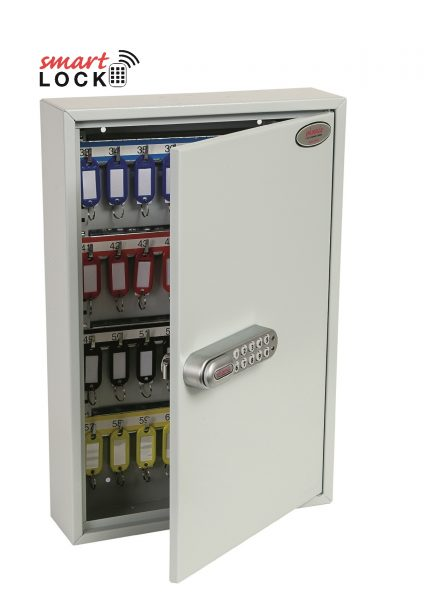 Phoenix Commercial Key Cabinet KC0602N 64 Hook with Net Code Electronic Lock.