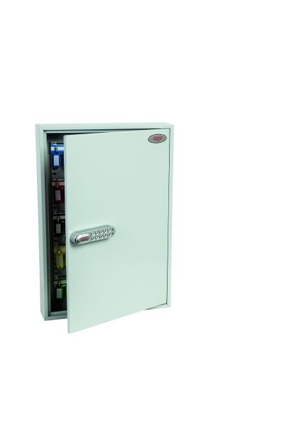 Phoenix Commercial Key Cabinet KC0603E 100 Hook with Electronic Lock.