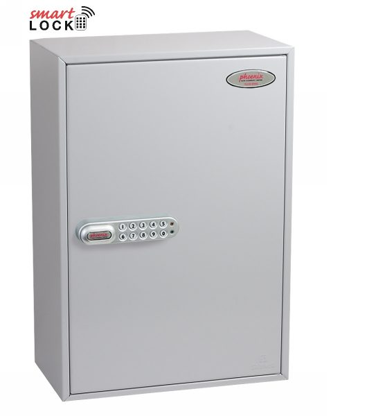 Phoenix Commercial Key Cabinet KC0604N 200 Hook with Net Code Electronic Lock.