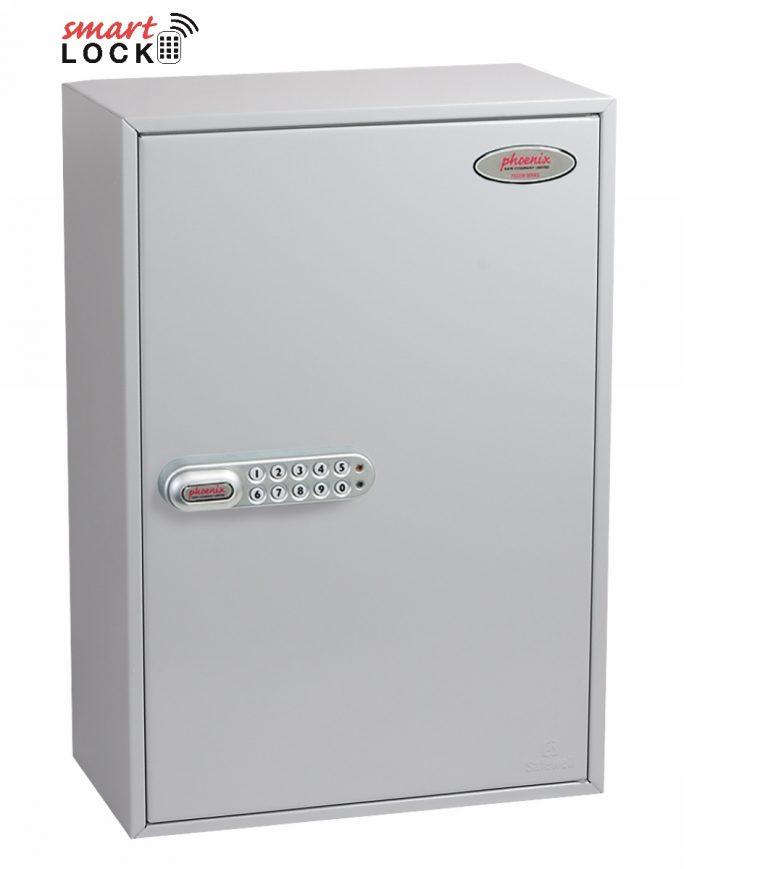 Phoenix Commercial Key Cabinet KC0604N 200 Hook with Net Code Electronic Lock.