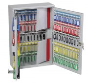 Phoenix Commercial Key Cabinet KC0604S 200 Hook with Electronic Lock & Push Shut Latch. 4