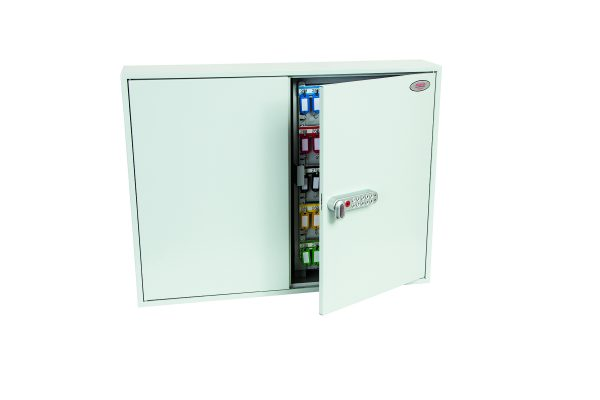 Phoenix Commercial Key Cabinet KC0606E 400 Hook with Electronic Lock.