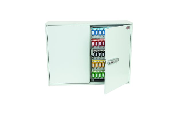 Phoenix Commercial Key Cabinet KC0607E 600 Hook with Electronic Lock.