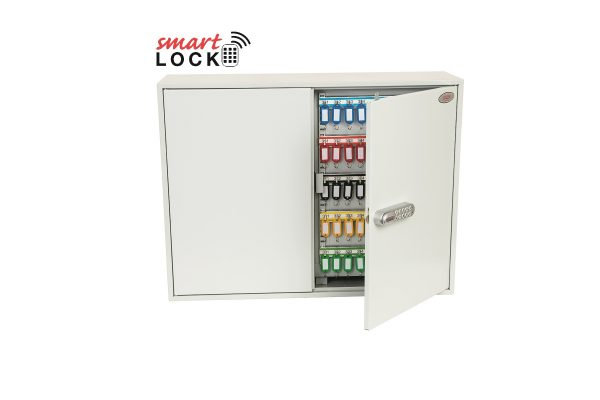 Phoenix Commercial Key Cabinet KC0607N 600 Hook with Net Code Electronic Lock.