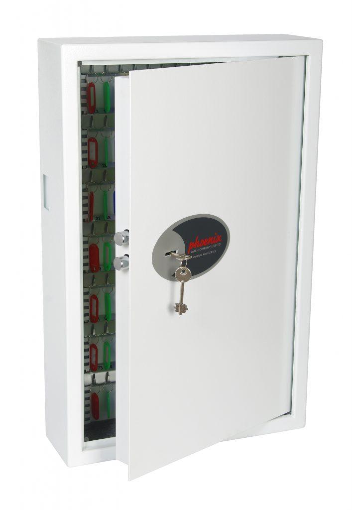 Phoenix Cygnus Key Deposit Safe KS0033K 144 Hook with Key Lock