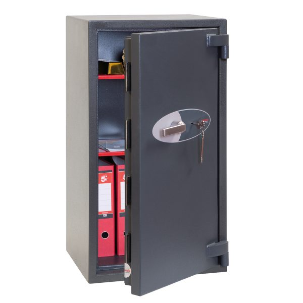Phoenix Mercury HS2053K Size 3 High Security Euro Grade 2 Safe with Key Lock
