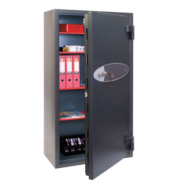 Phoenix Mercury HS2055K Size 5 High Security Euro Grade 2 Safe with Key Lock