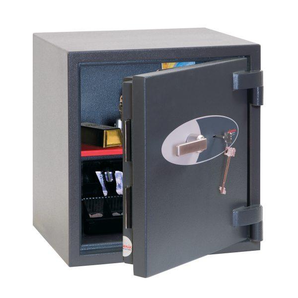 Phoenix Elara HS3551K Size 1 High Security Euro Grade 3 Safe with Key Lock