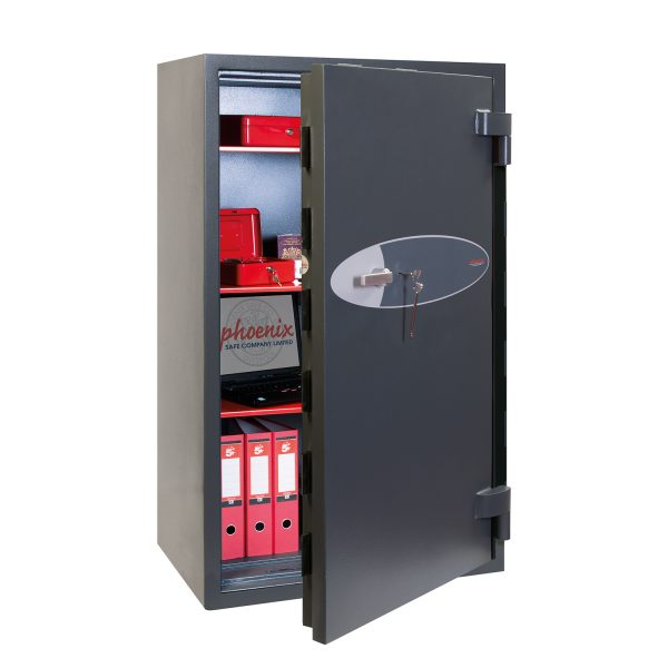 Phoenix Elara HS3556K Size 6 High Security Euro Grade 3 Safe with Key Lock