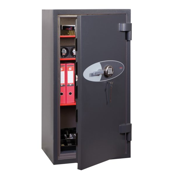 Phoenix Planet HS6075E Size 5 High Security Euro Grade 4 Safe with Electronic & Key Lock