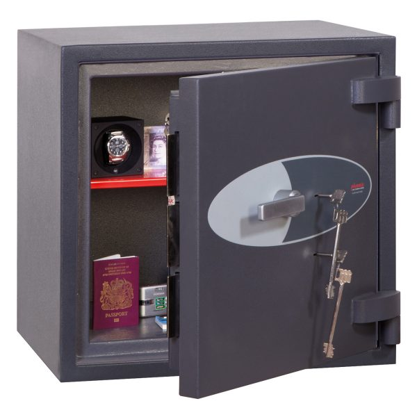 Phoenix Cosmos HS9071K Size 1 High Security Euro Grade 5 Safe with 2 Key Locks