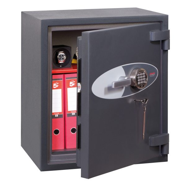Phoenix Cosmos HS9072E Size 2 High Security Euro Grade 5 Safe with Electronic & Key Lock