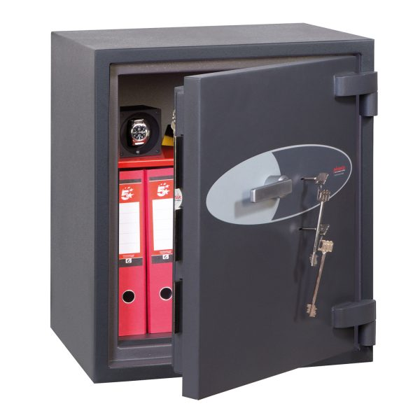 Phoenix Cosmos HS9072K Size 2 High Security Euro Grade 5 Safe with 2 Key Locks