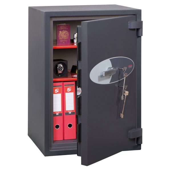 Phoenix Cosmos HS9073K Size 3 High Security Euro Grade 5 Safe with 2 Key Locks