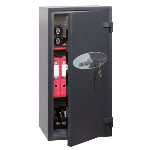 Phoenix Cosmos HS9074K Size 4 High Security Euro Grade 5 Safe with 2 Key Locks