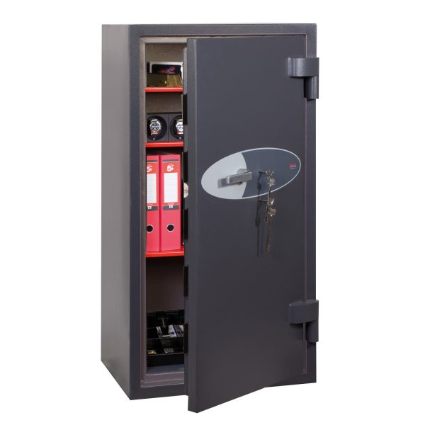 Phoenix Cosmos HS9075K Size 5 High Security Euro Grade 5 Safe with 2 Key Locks