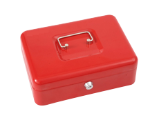 Secure cash boxes