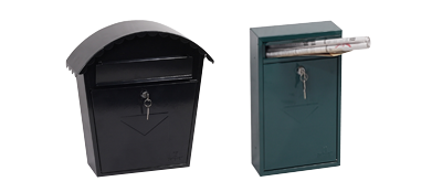 Secure mail boxes