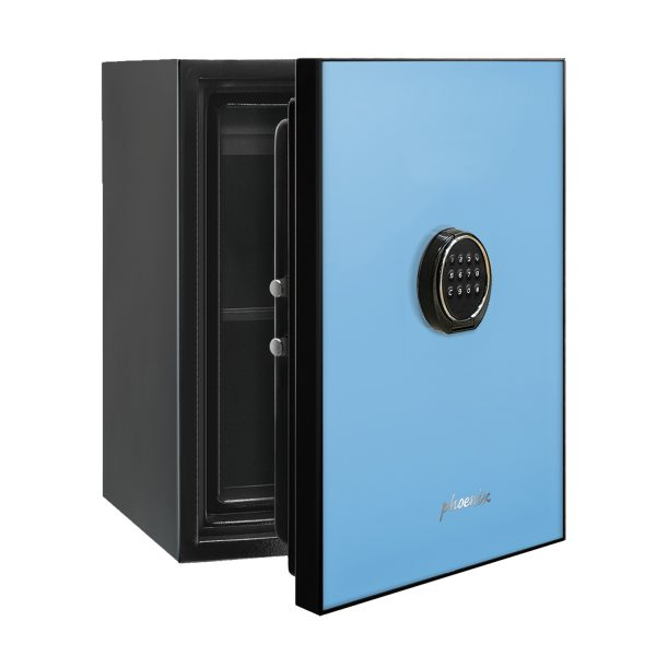 Phoenix Spectrum LS6001EB Luxury Fire Safe with Blue Door Panel and Electronic Lock