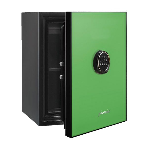 Phoenix Spectrum LS6001EG Luxury Fire Safe with Green Door Panel and Electronic Lock