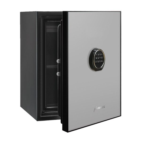 Phoenix Spectrum LS6001ELG Luxury Fire Safe with Light Grey Door Panel and Electronic Lock