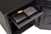 Phoenix Spectrum Plus LS6011FB Size 1 Luxury Fire Safe with Black Door Panel and Electronic Lock 8