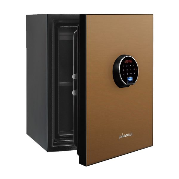 Phoenix Spectrum Plus LS6011FG Size 1 Luxury Fire Safe with Gold Door Panel and Electronic Lock