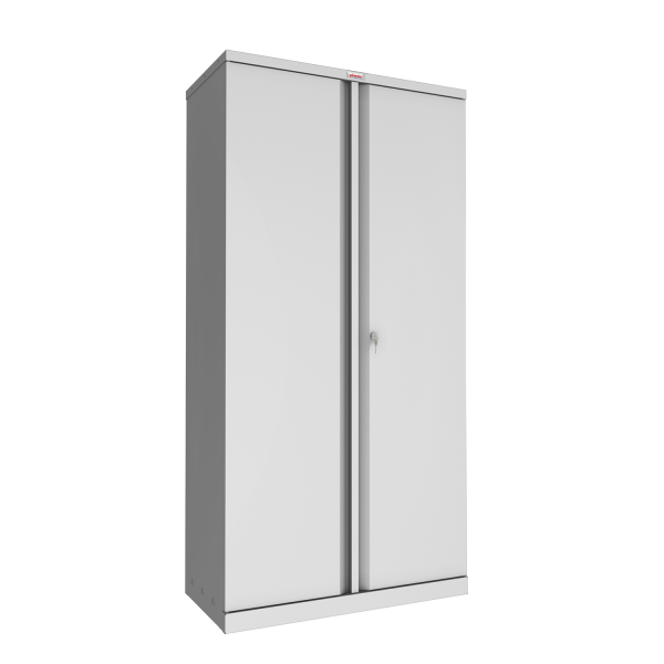Phoenix SC Series SC1891GK 2 Door 4 Shelf Stationery Cupboard in Grey with Key lock
