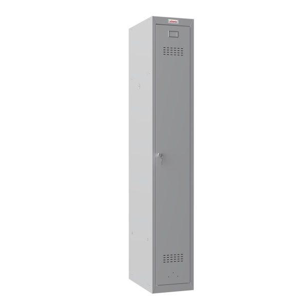 Phoenix PL Series PL1130GGK 1 Column 1 Door Personal locker in Grey with Key Lock