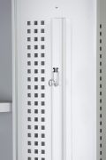 Phoenix PL Series PL1130GGK 1 Column 1 Door Personal locker in Grey with Key Lock 7