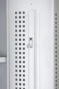 Phoenix PL Series PL2160GGC 2 Column 2 Door Personal Locker Combo in Grey with Combination Locks 7
