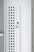 Phoenix PL Series PL2160GGE 2 Column 2 Door Personal Locker Combo in Grey with Electronic Locks 7