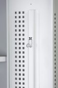 Phoenix PL Series PL2160GGK 2 Column 2 Door Personal Locker Combo in Grey with Key Locks 8