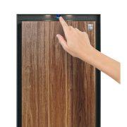 Phoenix Palladium LS8002EFW Luxury Safe in Smoked White Oak with Fingerprint Lock 4