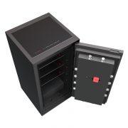 Phoenix Palladium LS8002EFW Luxury Safe in Smoked White Oak with Fingerprint Lock 6