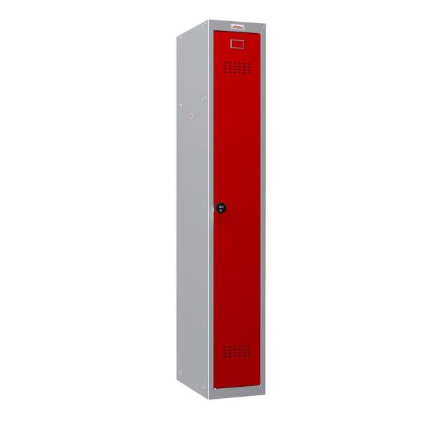 Phoenix CD Series CD1130/4GRC Single Door in Red with Combination Lock